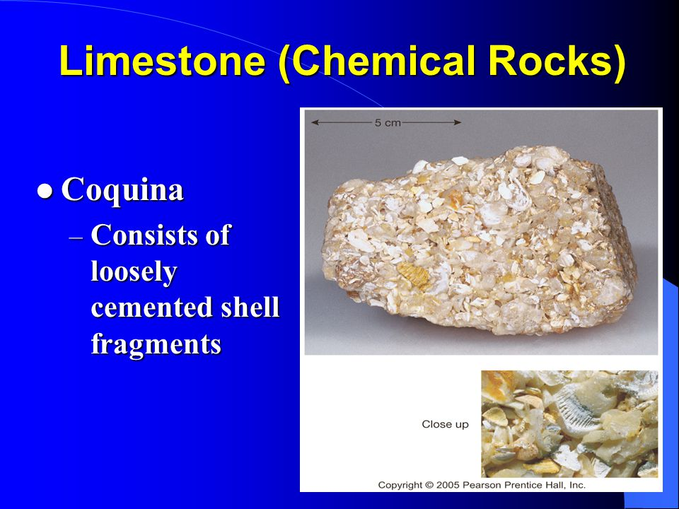 Limestone (Chemical Rocks)