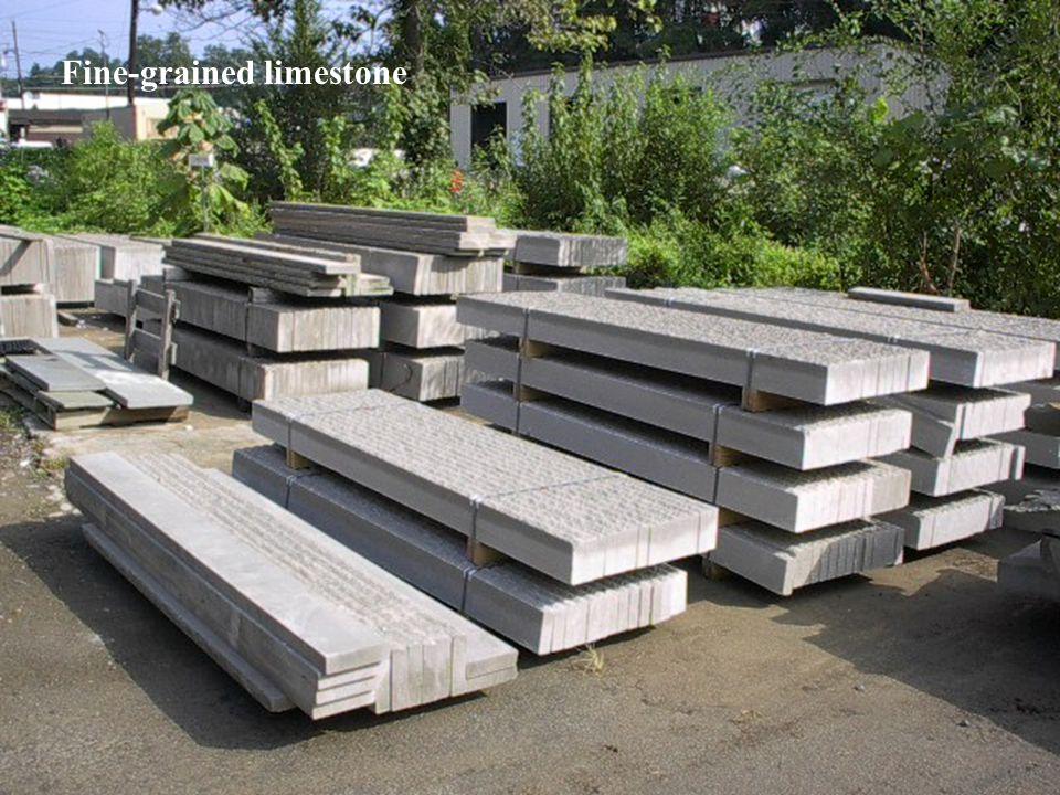 Fine-grained limestone