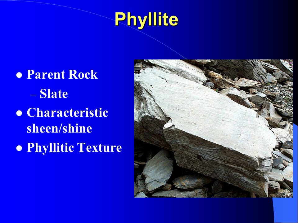 Rock Identification Modified From A Powerpoint