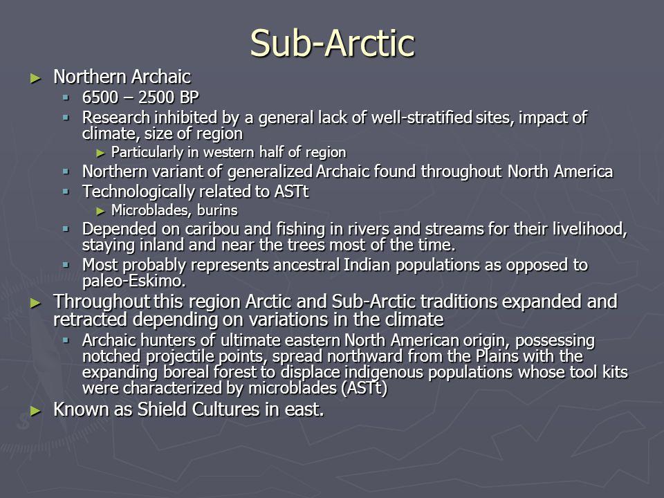 Sub-Arctic Northern Archaic