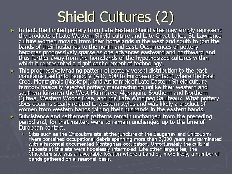 Shield Cultures (2)