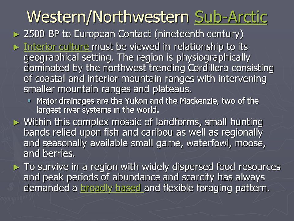 Western/Northwestern Sub-Arctic