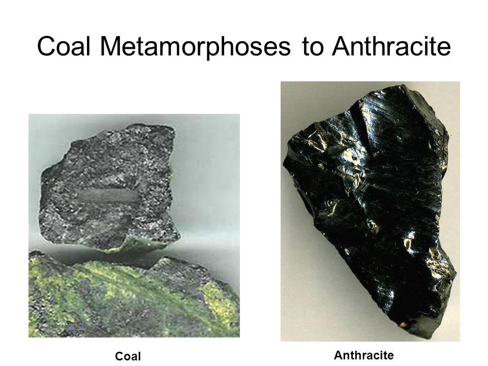 Coal Metamorphoses to Anthracite