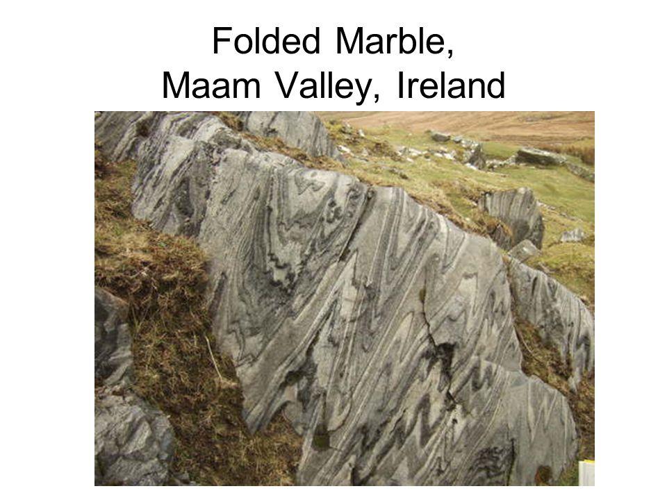 Folded Marble, Maam Valley, Ireland