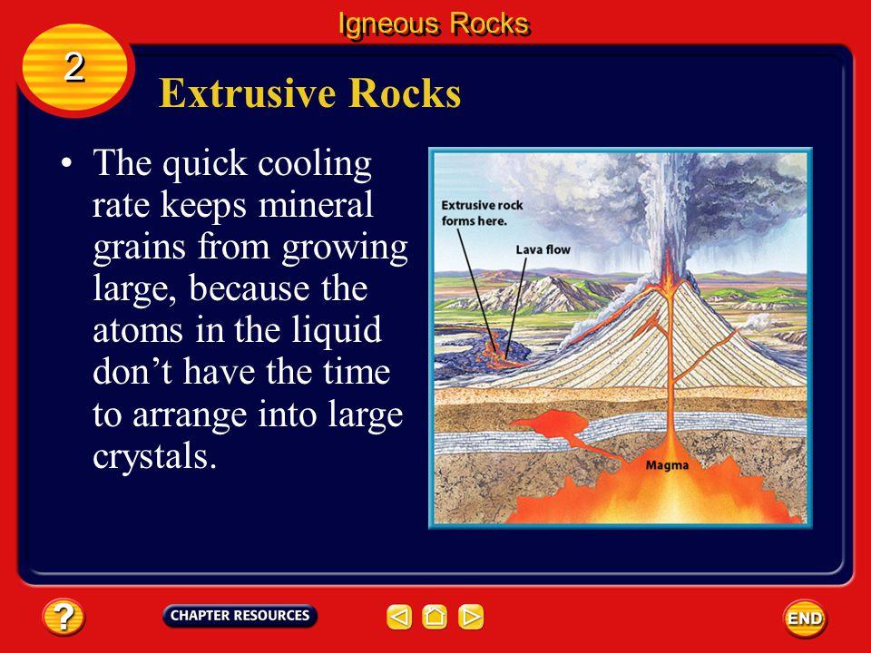 Igneous Rocks 2. Extrusive Rocks.