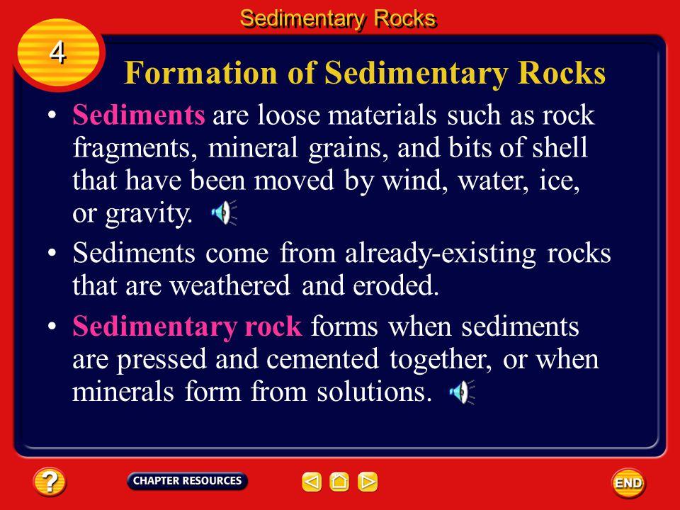 Formation of Sedimentary Rocks