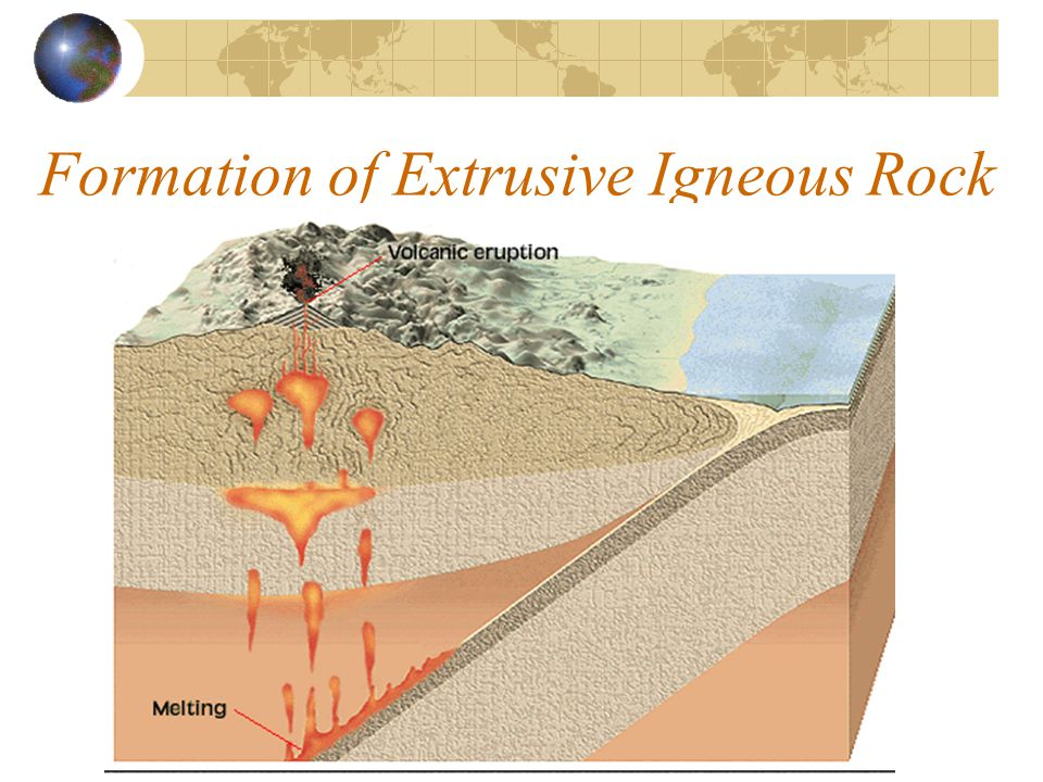 Formation of Extrusive Igneous Rock
