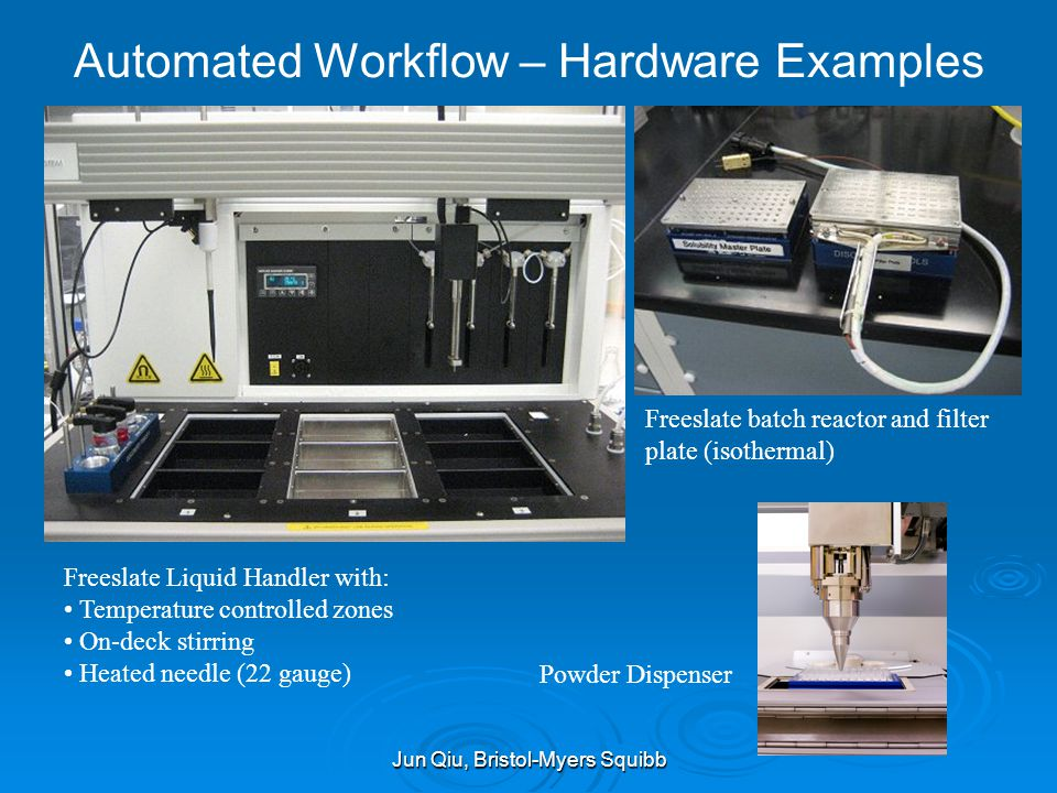 Automated Workflow – Hardware Examples