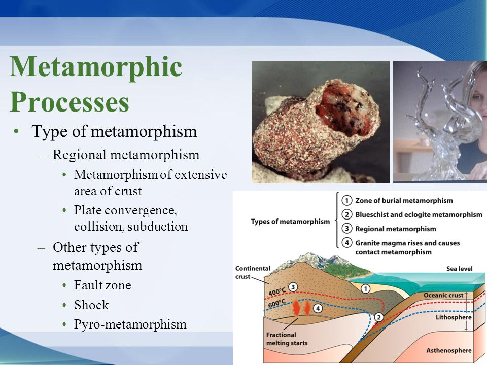 Metamorphic Processes