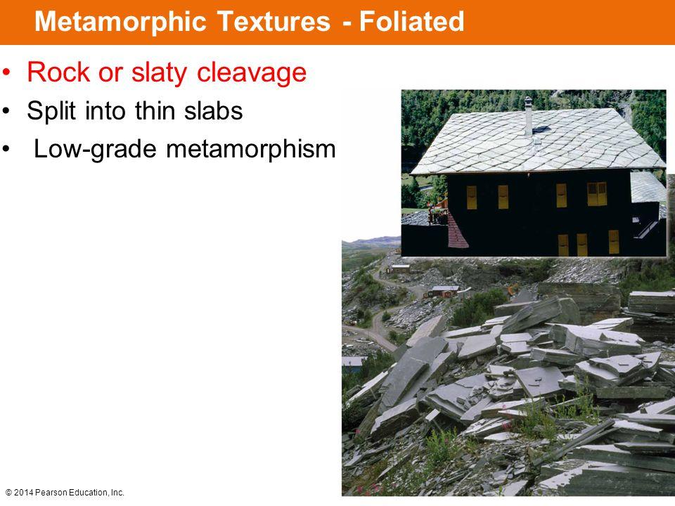 Metamorphic Textures - Foliated