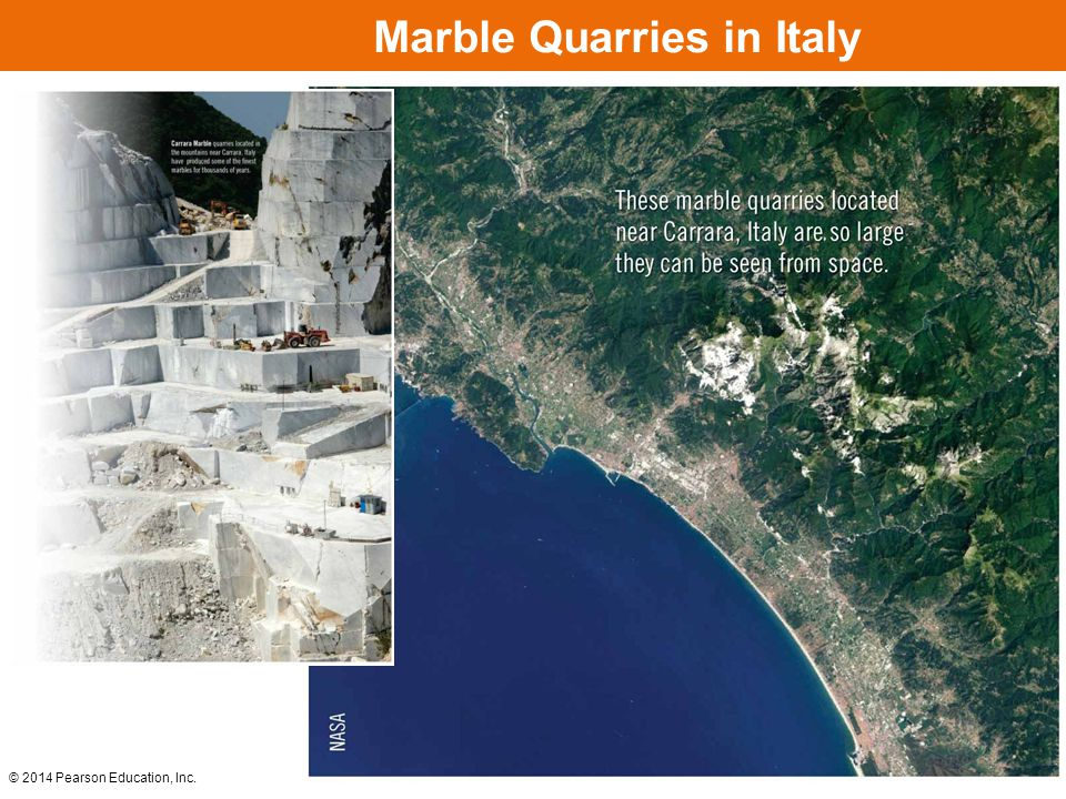 Marble Quarries in Italy