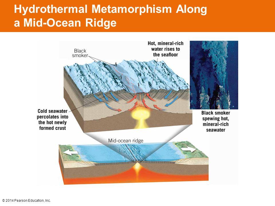 Hydrothermal Metamorphism Along a Mid-Ocean Ridge