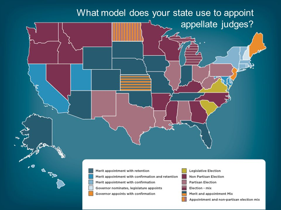 What model does your state use to appoint appellate judges