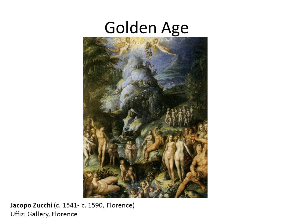Golden Age Jacopo Zucchi (c. 1541- c. 1590, Florence)