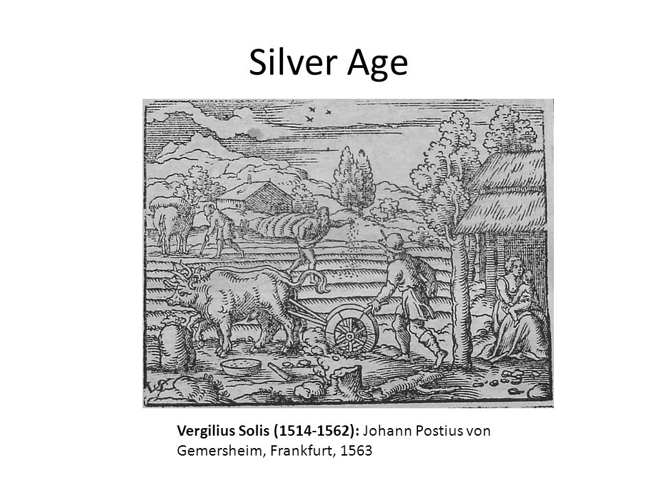 Silver Age Vergilius Solis (1514-1562): Johann Postius von Gemersheim, Frankfurt, 1563