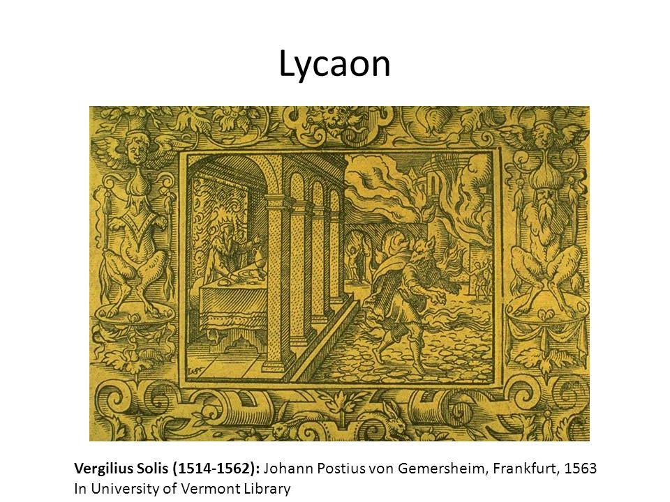 Lycaon Vergilius Solis (1514-1562): Johann Postius von Gemersheim, Frankfurt, 1563.