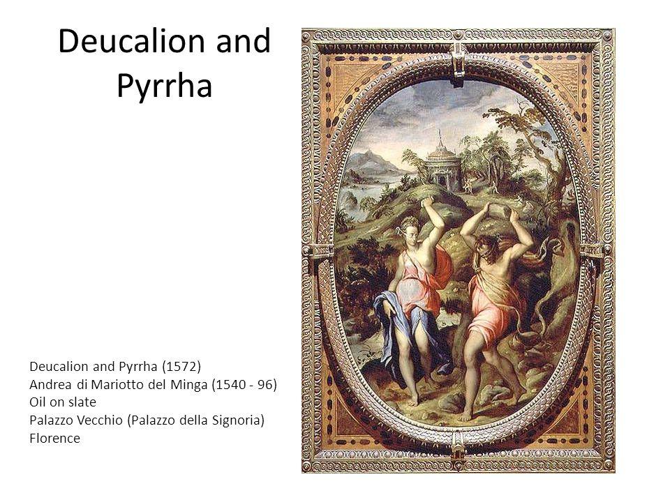 Deucalion and Pyrrha Deucalion and Pyrrha (1572)