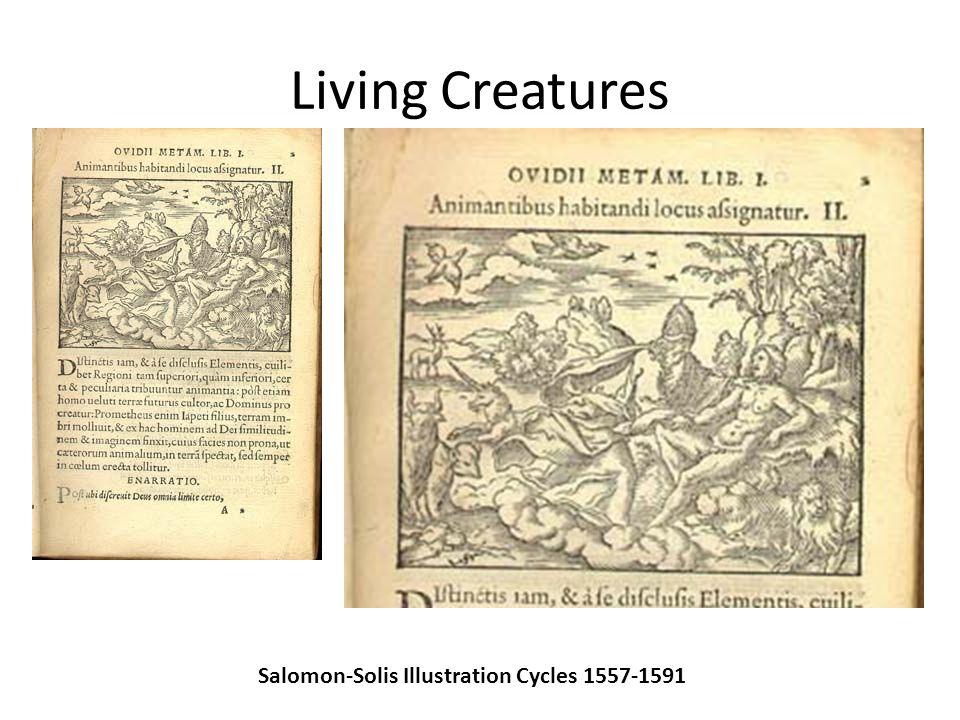 Living Creatures Salomon-Solis Illustration Cycles 1557-1591
