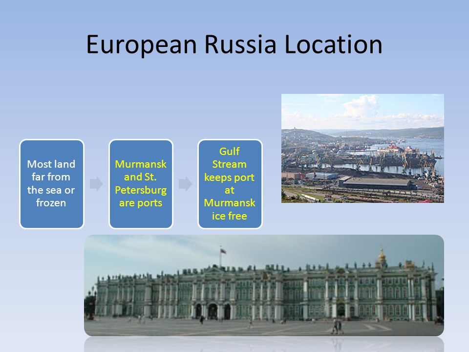 European Russia Location