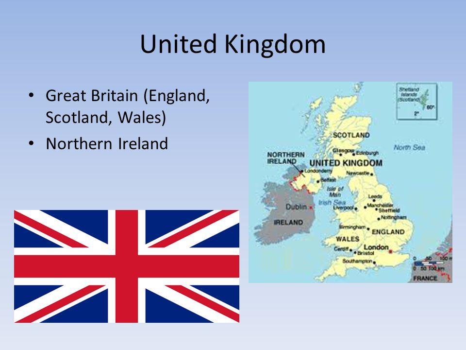 United Kingdom Great Britain (England, Scotland, Wales)