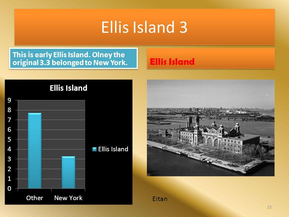 Ellis Island 3 Ellis Island
