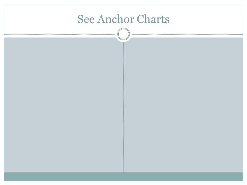 See Anchor Charts