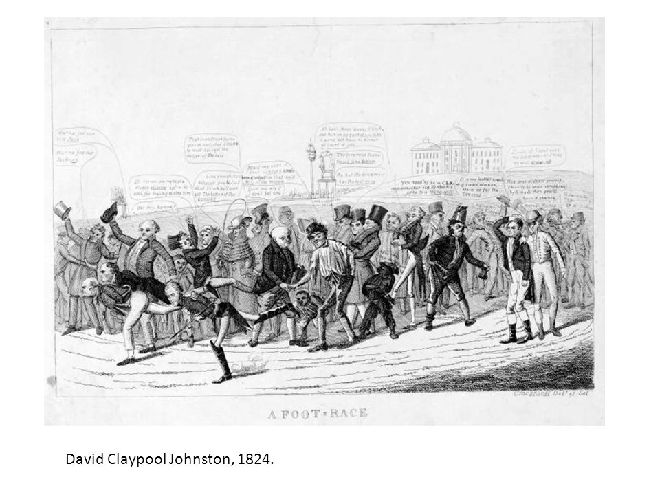 David Claypool Johnston, 1824.