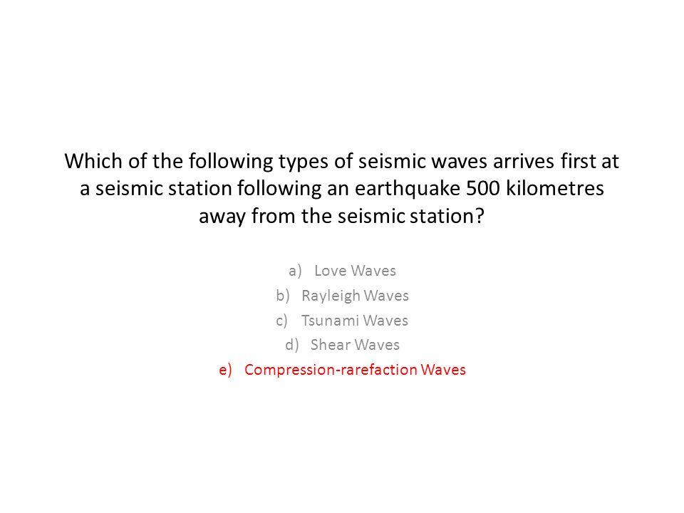 Compression-rarefaction Waves