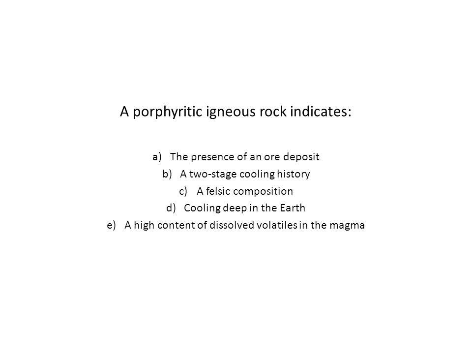 A porphyritic igneous rock indicates: