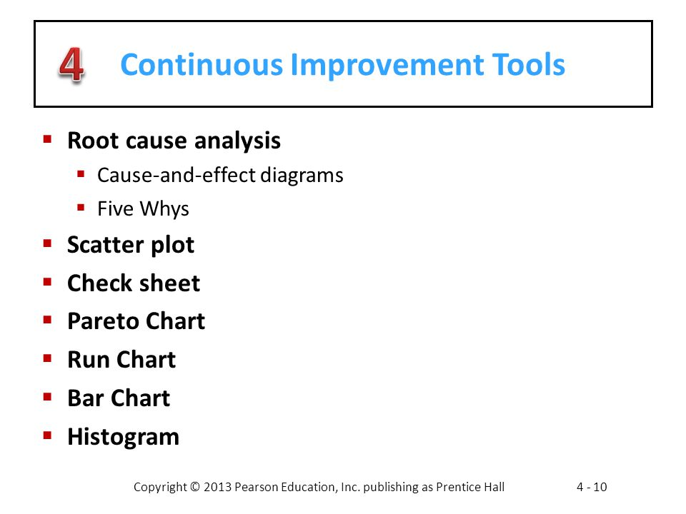 Continuous Improvement Tools