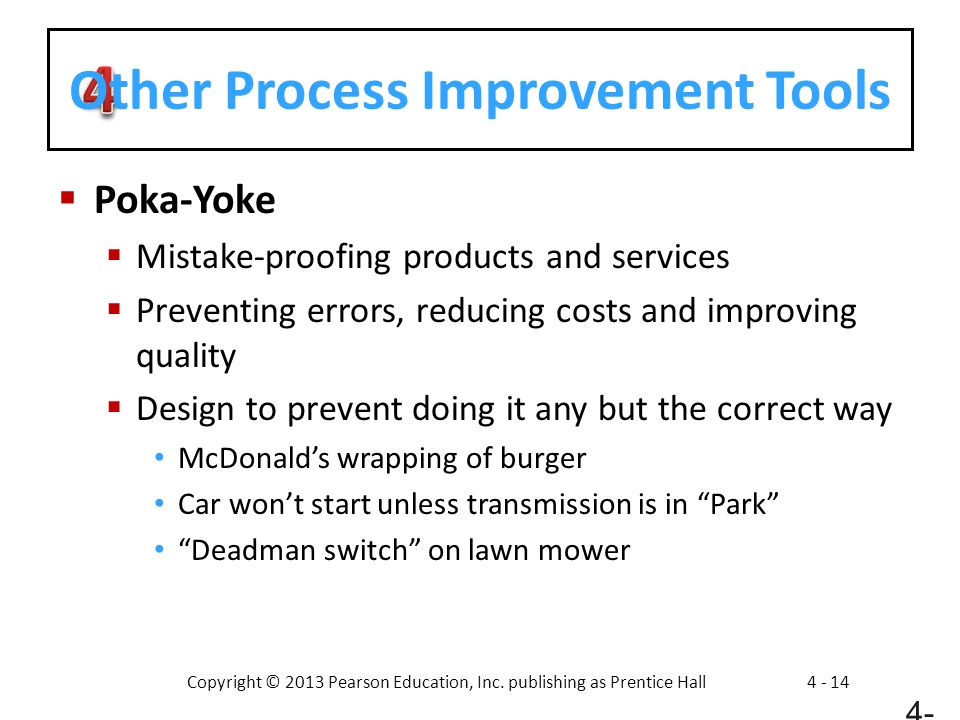 Other Process Improvement Tools