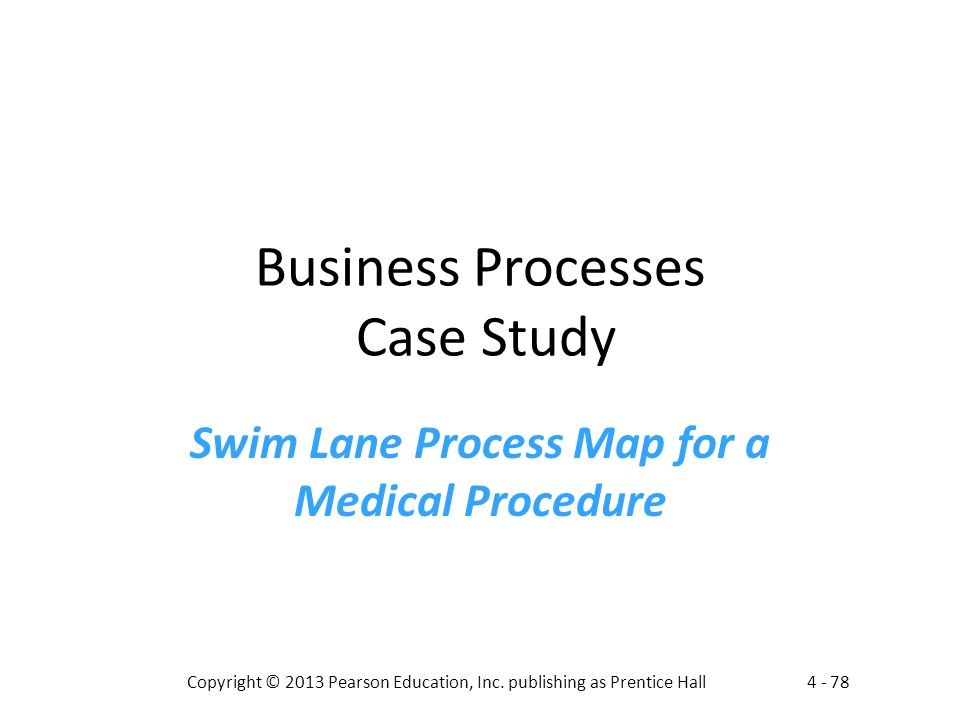 Business Processes Case Study