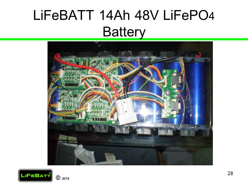 LiFeBATT 14Ah 48V LiFePO4 Battery