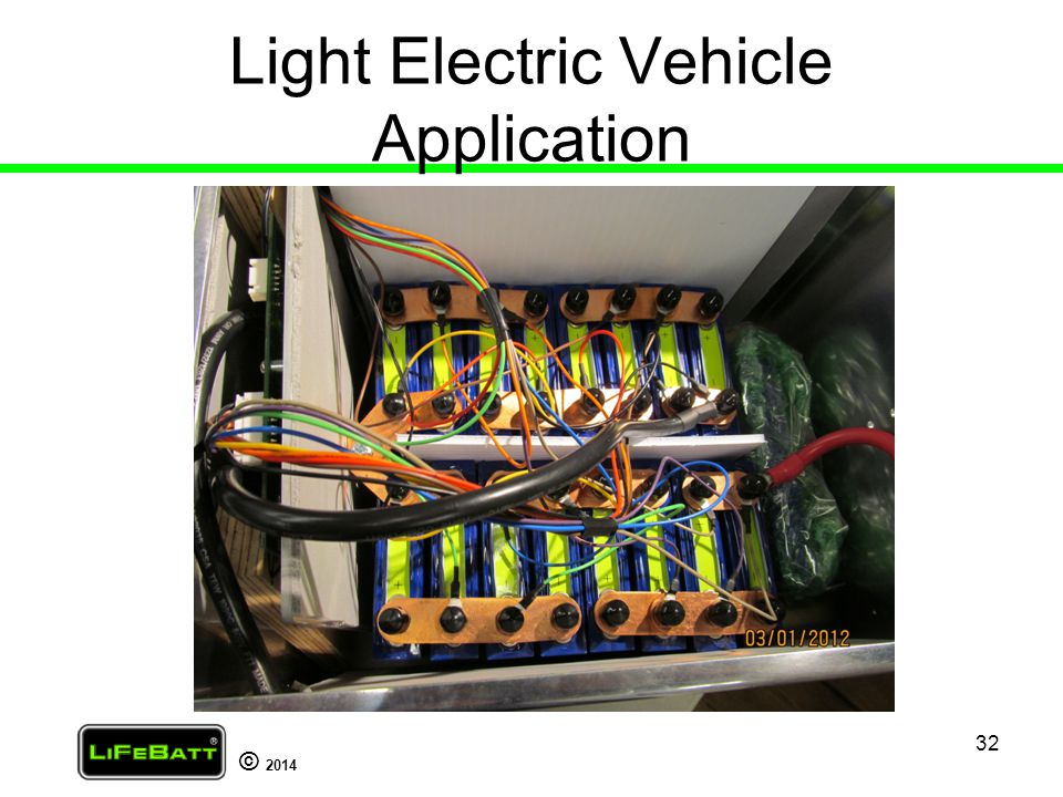 Light Electric Vehicle Application