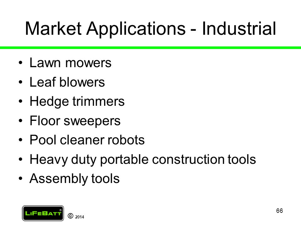 Market Applications - Industrial