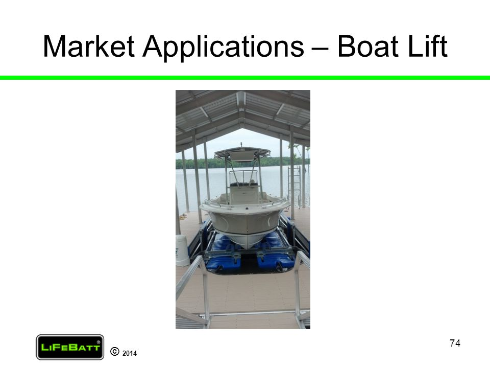 Market Applications – Boat Lift