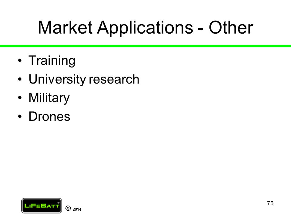 Market Applications - Other