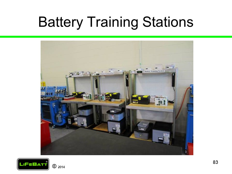 Battery Training Stations