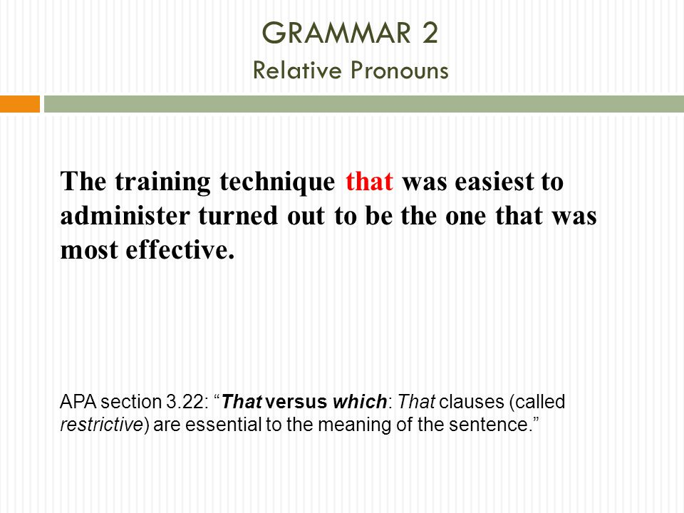 GRAMMAR 2 Relative Pronouns
