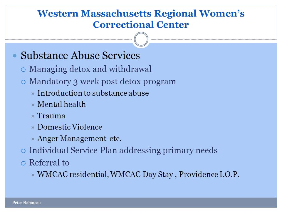 Western Massachusetts Regional Women's Correctional Center