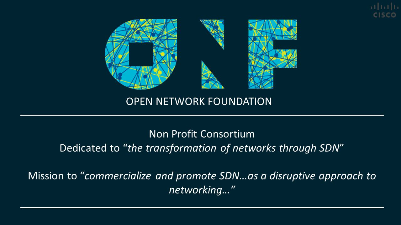 Dedicated to the transformation of networks through SDN
