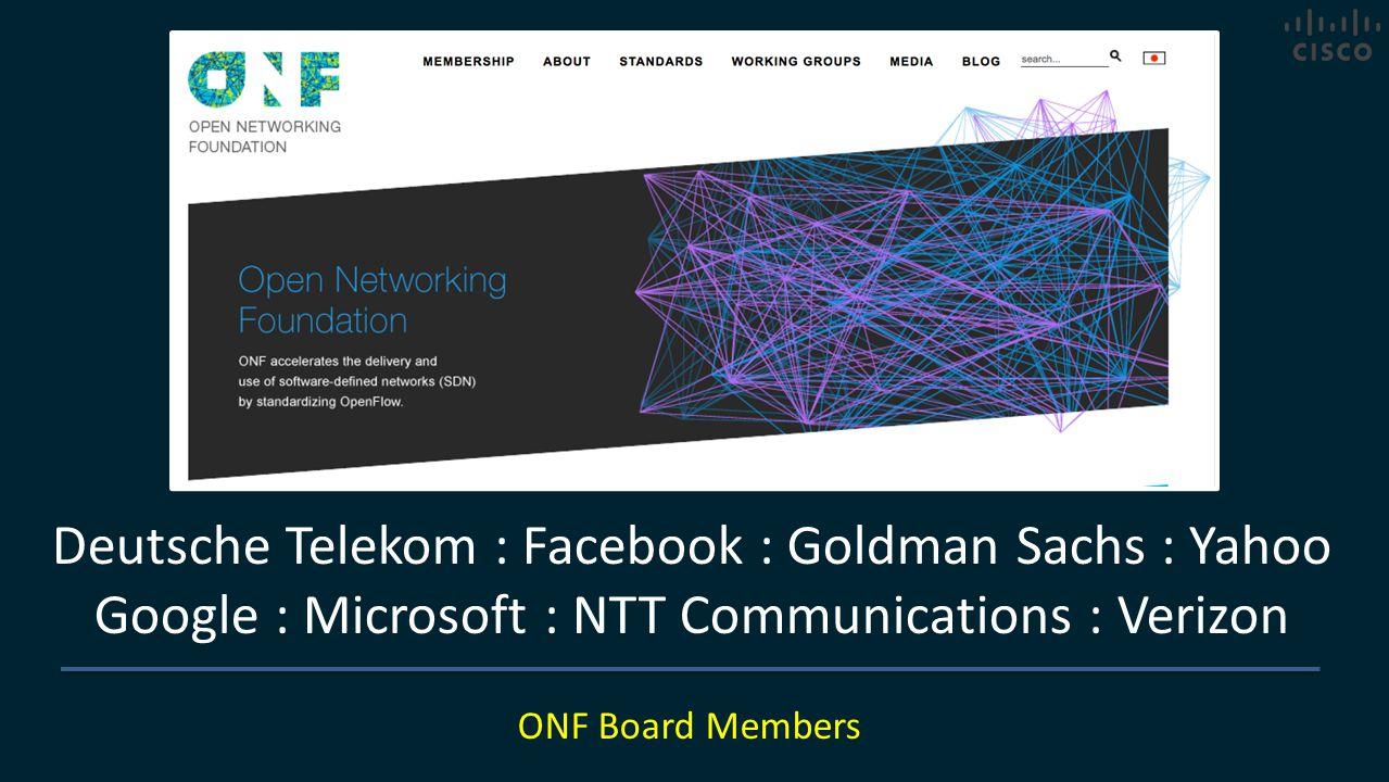 Deutsche Telekom : Facebook : Goldman Sachs : Yahoo
