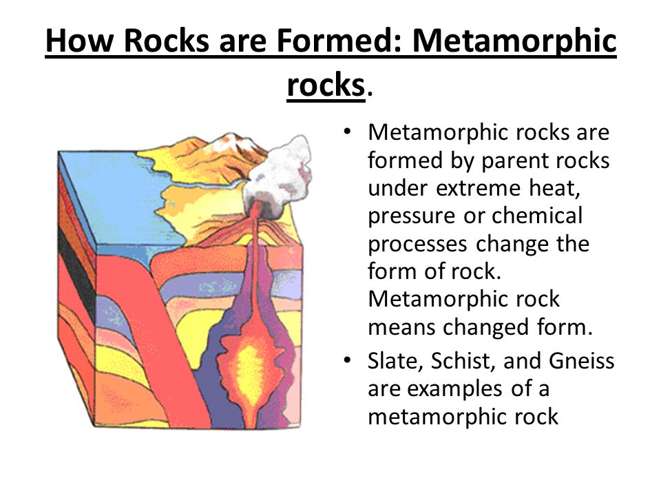 How Rocks are Formed: Metamorphic rocks.