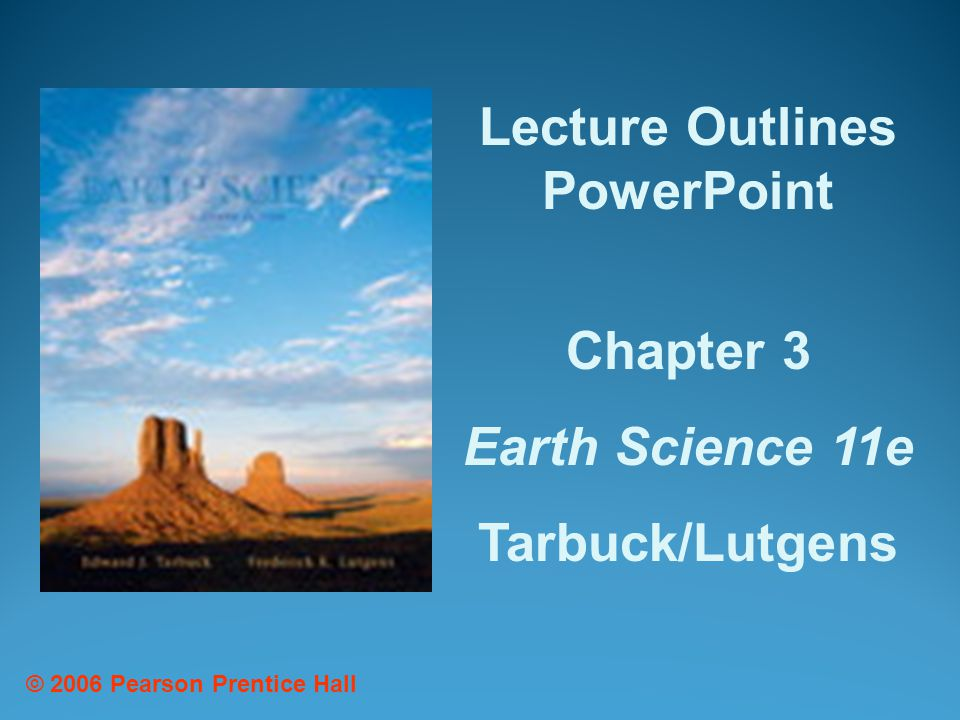 Lecture Outlines PowerPoint