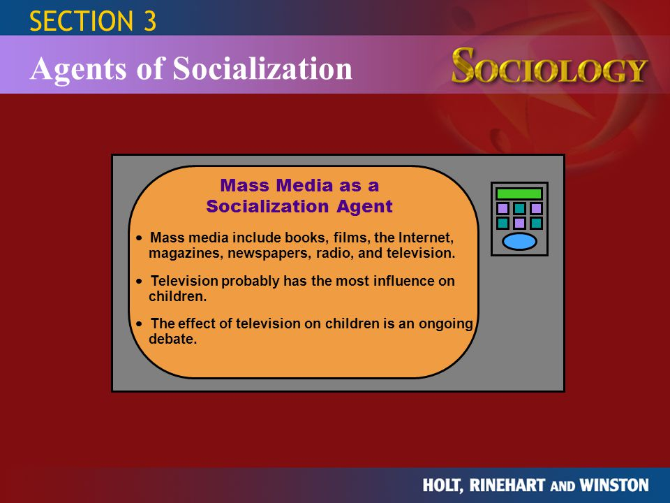 Mass Media as a Socialization Agent