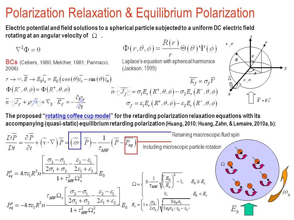 Polarization Relaxation & Equilibrium Polarization