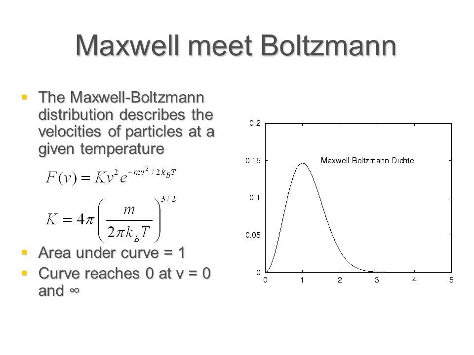 Maxwell meet Boltzmann