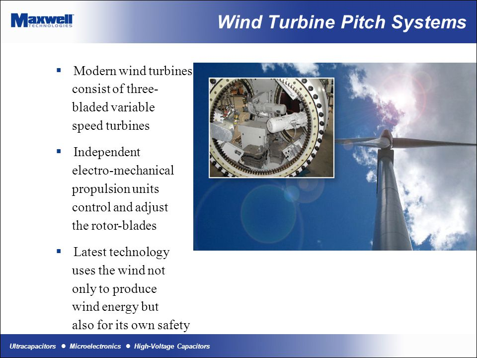 Wind Turbine Pitch Systems