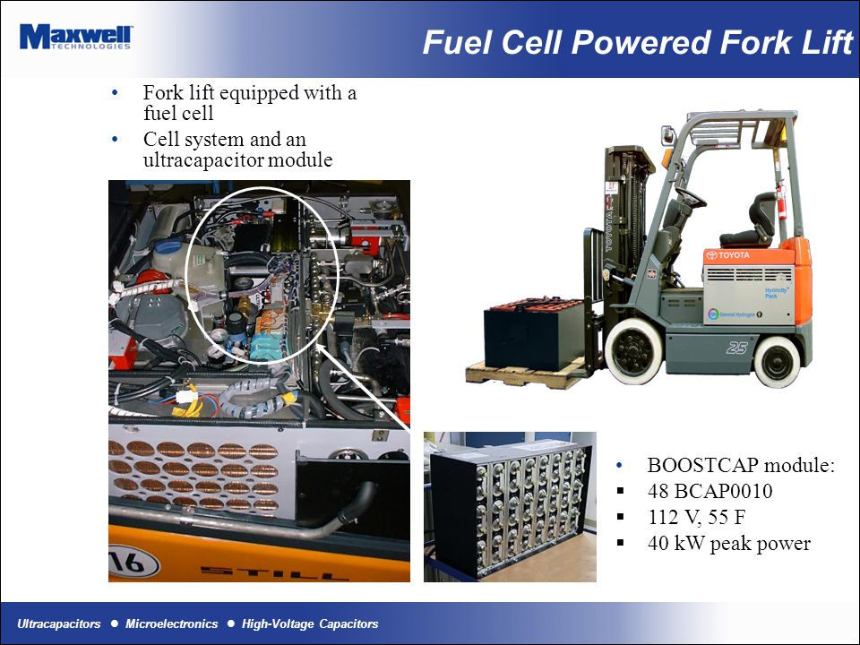 Fuel Cell Powered Fork Lift
