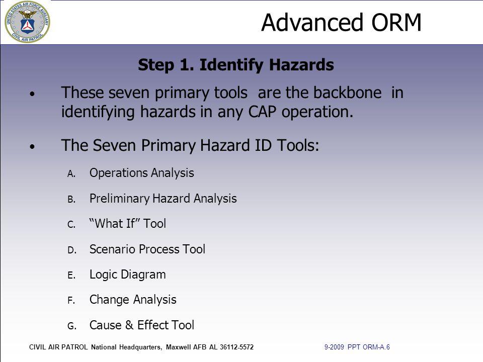 The Seven Primary Hazard ID Tools: